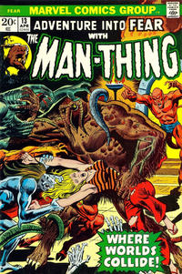 Cover Thumbnail for Fear (Marvel, 1970 series) #13