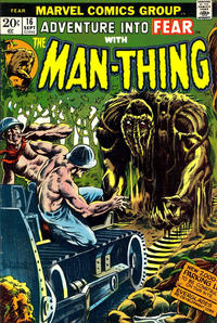 Cover Thumbnail for Fear (Marvel, 1970 series) #16