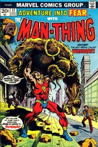 Cover Thumbnail for Fear (Marvel, 1970 series) #17