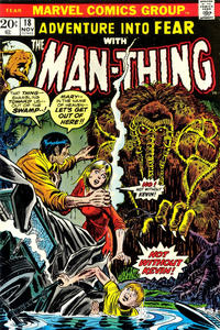 Cover Thumbnail for Fear (Marvel, 1970 series) #18