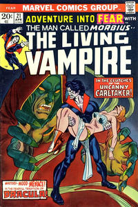 Cover Thumbnail for Fear (Marvel, 1970 series) #21