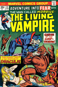 Cover Thumbnail for Fear (Marvel, 1970 series) #22