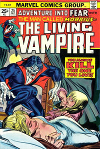 Cover Thumbnail for Fear (Marvel, 1970 series) #25 [Regular Edition]