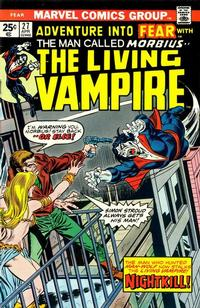 Cover Thumbnail for Fear (Marvel, 1970 series) #27 [Regular Edition]