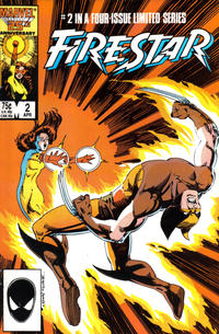 Cover Thumbnail for Firestar (Marvel, 1986 series) #2 [Direct Edition]