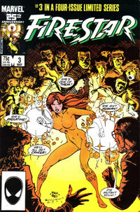 Cover Thumbnail for Firestar (Marvel, 1986 series) #3 [Direct Edition]