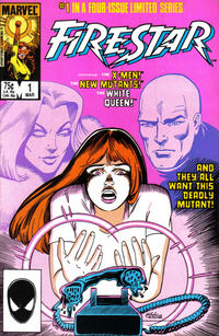 Cover Thumbnail for Firestar (Marvel, 1986 series) #1 [Direct Edition]