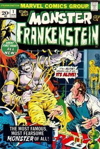Cover Thumbnail for Frankenstein (Marvel, 1973 series) #1