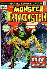 Cover Thumbnail for Frankenstein (Marvel, 1973 series) #2