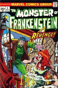 Cover Thumbnail for Frankenstein (Marvel, 1973 series) #3