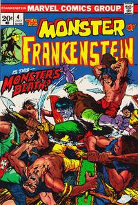 Cover Thumbnail for Frankenstein (Marvel, 1973 series) #4