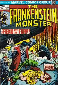 Cover for Frankenstein (Marvel, 1973 series) #7