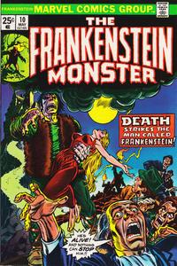 Cover Thumbnail for Frankenstein (Marvel, 1973 series) #10