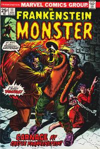 Cover Thumbnail for Frankenstein (Marvel, 1973 series) #11
