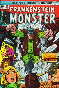 Cover Thumbnail for Frankenstein (Marvel, 1973 series) #12 [Regular Edition]