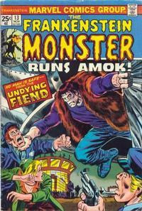 Cover Thumbnail for Frankenstein (Marvel, 1973 series) #13 [Regular Edition]