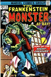 Cover Thumbnail for Frankenstein (Marvel, 1973 series) #14 [Regular Edition]