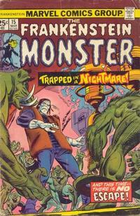 Cover Thumbnail for Frankenstein (Marvel, 1973 series) #15