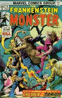 Cover Thumbnail for Frankenstein (Marvel, 1973 series) #18