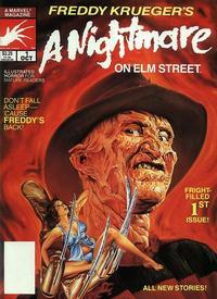 Cover Thumbnail for Freddy Krueger's A Nightmare on Elm Street (Marvel, 1989 series) #1