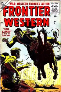 Cover Thumbnail for Frontier Western (Marvel, 1956 series) #5