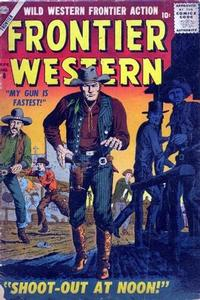Cover for Frontier Western (Marvel, 1956 series) #8