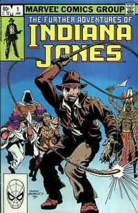 Cover Thumbnail for The Further Adventures of Indiana Jones (Marvel, 1983 series) #1 [Direct]