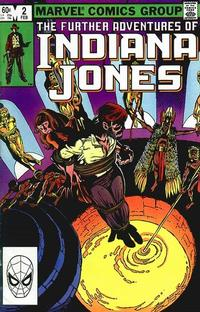 Cover Thumbnail for The Further Adventures of Indiana Jones (Marvel, 1983 series) #2 [Direct]