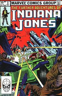 Cover Thumbnail for The Further Adventures of Indiana Jones (Marvel, 1983 series) #3 [Direct]