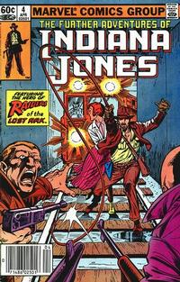 Cover Thumbnail for The Further Adventures of Indiana Jones (Marvel, 1983 series) #4 [Newsstand]