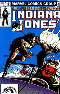Cover Thumbnail for The Further Adventures of Indiana Jones (Marvel, 1983 series) #6 [Direct]