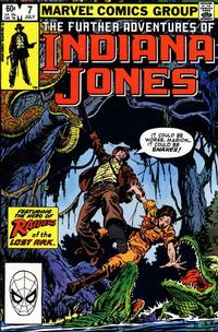 Cover Thumbnail for The Further Adventures of Indiana Jones (Marvel, 1983 series) #7 [Direct]
