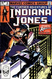 Cover Thumbnail for The Further Adventures of Indiana Jones (Marvel, 1983 series) #9 [Direct]