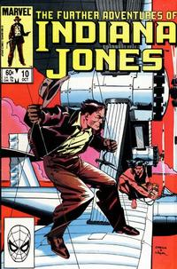 Cover Thumbnail for The Further Adventures of Indiana Jones (Marvel, 1983 series) #10 [Direct]