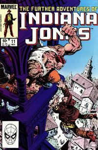 Cover Thumbnail for The Further Adventures of Indiana Jones (Marvel, 1983 series) #11 [Direct]