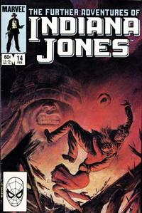 Cover Thumbnail for The Further Adventures of Indiana Jones (Marvel, 1983 series) #14 [Direct]