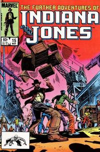 Cover Thumbnail for The Further Adventures of Indiana Jones (Marvel, 1983 series) #15 [Direct]