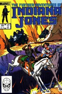 Cover Thumbnail for The Further Adventures of Indiana Jones (Marvel, 1983 series) #17 [Direct]