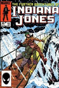 Cover Thumbnail for The Further Adventures of Indiana Jones (Marvel, 1983 series) #18 [Direct]