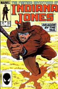 Cover Thumbnail for The Further Adventures of Indiana Jones (Marvel, 1983 series) #19 [Direct]