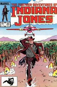 Cover Thumbnail for The Further Adventures of Indiana Jones (Marvel, 1983 series) #20 [Direct]