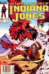 Cover Thumbnail for The Further Adventures of Indiana Jones (Marvel, 1983 series) #21 [Newsstand]