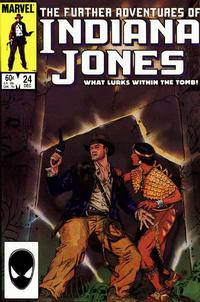 Cover Thumbnail for The Further Adventures of Indiana Jones (Marvel, 1983 series) #24 [Direct]
