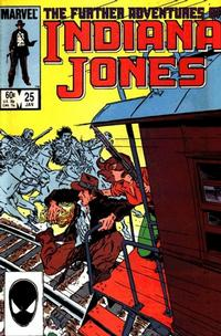 Cover Thumbnail for The Further Adventures of Indiana Jones (Marvel, 1983 series) #25 [Direct]