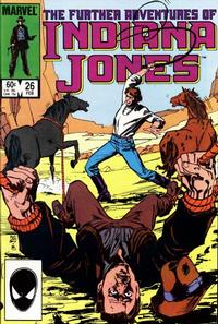 Cover Thumbnail for The Further Adventures of Indiana Jones (Marvel, 1983 series) #26 [Direct]