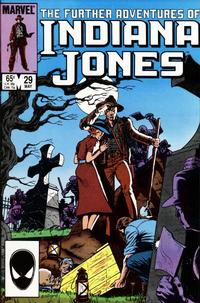 Cover Thumbnail for The Further Adventures of Indiana Jones (Marvel, 1983 series) #29 [Direct]