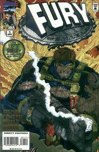 Cover Thumbnail for Fury of S.H.I.E.L.D. (Marvel, 1995 series) #1
