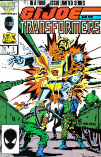 Cover Thumbnail for G.I. Joe and the Transformers (Marvel, 1986 series) #1 [Direct Edition]