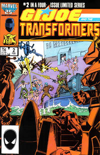Cover Thumbnail for G.I. Joe and the Transformers (Marvel, 1986 series) #2 [Direct Edition]