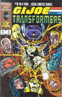 Cover Thumbnail for G.I. Joe and the Transformers (Marvel, 1986 series) #3 [Direct Edition]